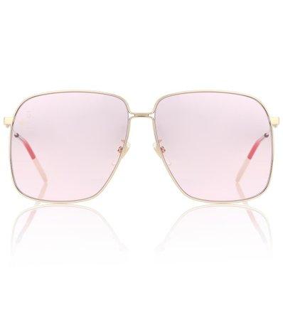 Rectangular Sunglasses - Gucci | mytheresa