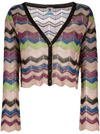 M Missoni zigzag-knit Cardigan - Farfetch
