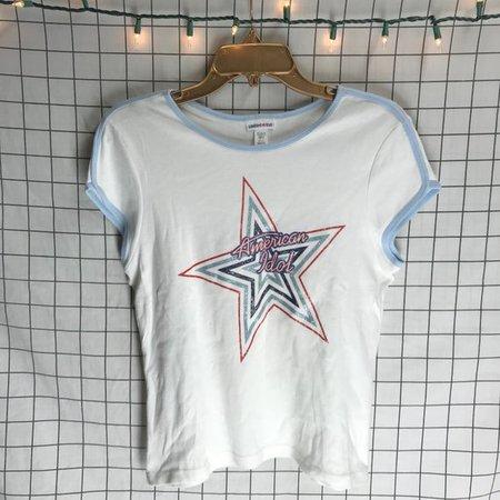 Vintage Limited Too Glitter 'American Idol' Ringer | Etsy