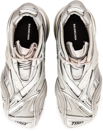Tyrex Sneakers in Silver | FWRD