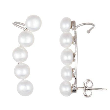 Pearl Cuff Earrings 1