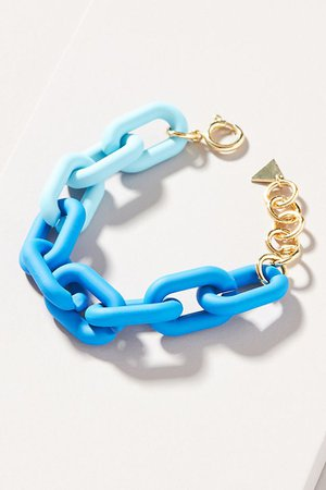 Resin Link Bracelet | Anthropologie