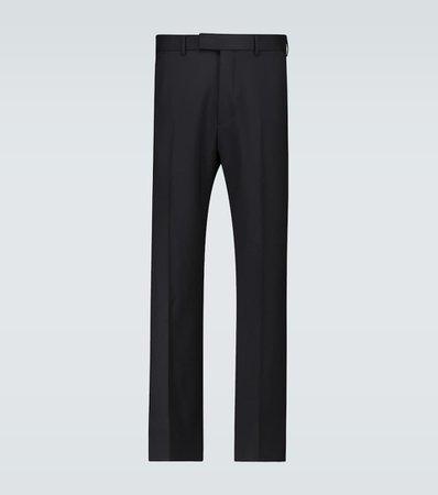 Gucci - Exclusive to Mytheresa - tailored wool-blend pants | Mytheresa
