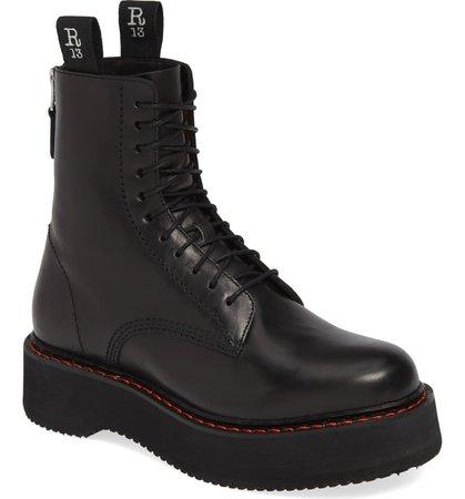 R13 Stack Platform Boot (Women) | Nordstrom