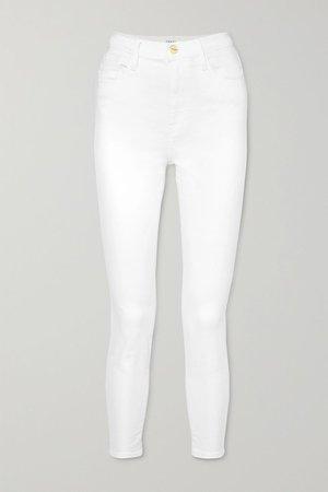 White Ali high-rise skinny jeans | FRAME | NET-A-PORTER