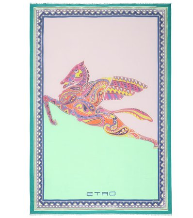 Printed Scarf - Etro | Mytheresa