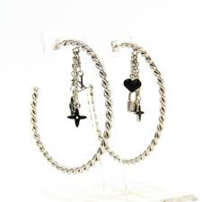 earring Louis Vuitton black