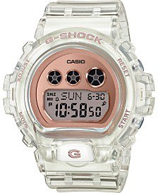 G-Shock Women's S Series Analog-Digital White and Rose Gold-Tone Watch 46mm GMAS120MF7A2 & Reviews - Watches - Jewelry & Watches - Macy's