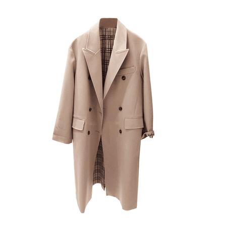 JESSICABUURMAN – KIOXI Lapel Long Sleeves Trench Coat