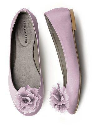 lavender purple flats