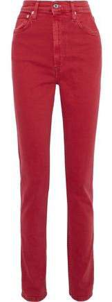 Femme Hi Spikes High-rise Slim-leg Jeans