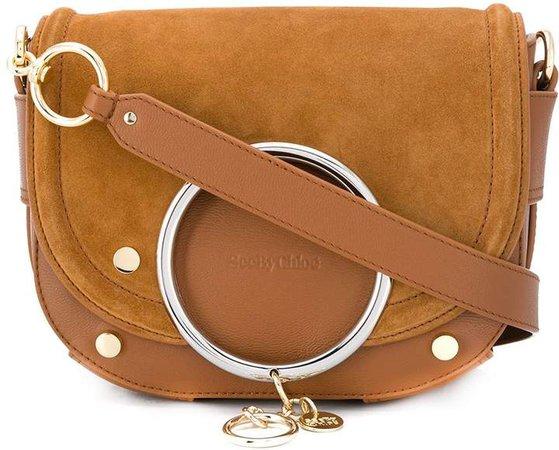 Mara saddle shoulder bag