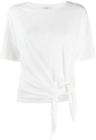 knotted crew neck T-Shirt