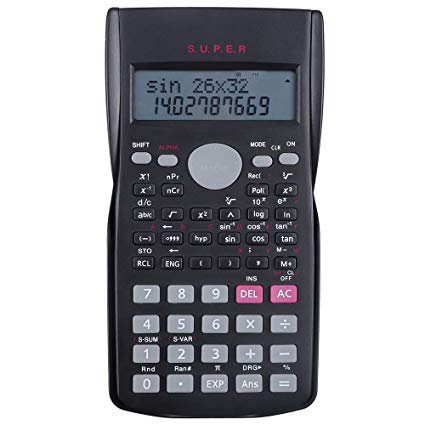 HAUTOCO Scientific Calculator 2 Line Multifunctional Calculator- 12 Digits Display- 240 Functions- Replay Function