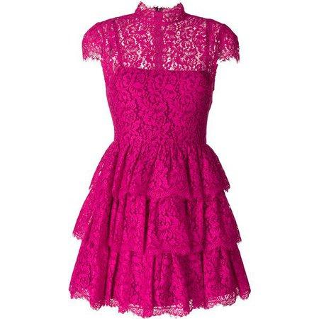 Lace Fuchsia Dress
