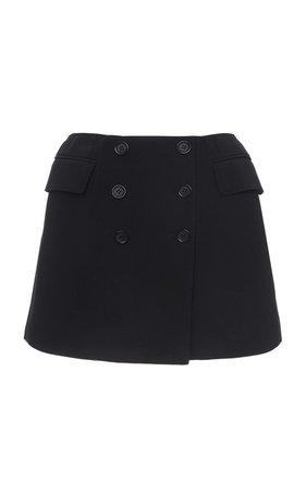 Dolce & Gabbana | button-detailed mini skirt