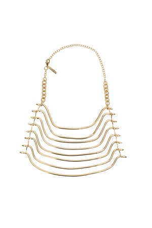 Alberta Ferretti Pleated Necklace