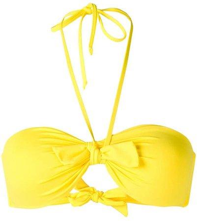 knotted halter bikini