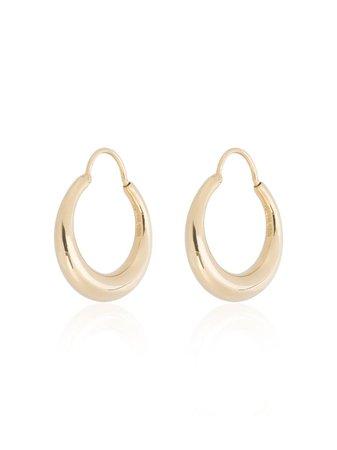 All Blues Gold Vermeil Fat Baby Snake Earrings - Farfetch