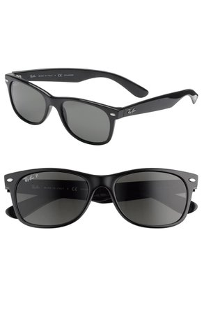 Ray-Ban 'New Wayfarer' 55mm Polarized Sunglasses   Nordstrom