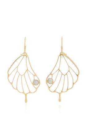 Annette Ferdinandsen Opal Pampion Wing Earring