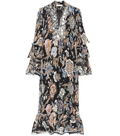 Dominique embellished dress