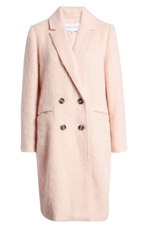 cupcakes and cashmere Effie Double Breasted Coat | Nordstrom