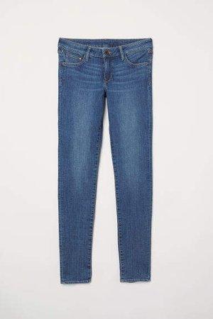 Super Skinny Low Jeans - Blue