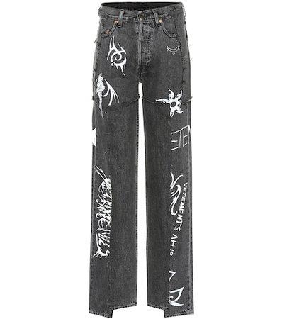 X Levi's® – high-rise wide-leg jeans
