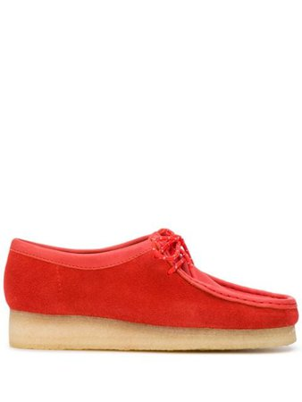 Clarks Originals Wallabee Suede lace-up Shoes - Farfetch