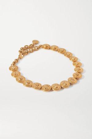 Gold Gold-tone choker | Versace | NET-A-PORTER