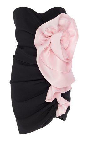 Ruched Strapless Mini Dress by Alexandre Vauthier | Moda Operandi