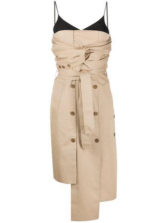 Rokh Asymmetric Layered Dress - Farfetch