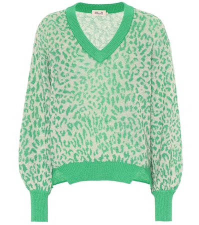 Charlize wool-blend sweater