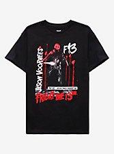 Friday The 13th, Part VIII: Jason Takes Manhattan Red & White Girls T-Shirt