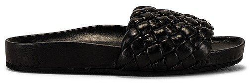 Sonnie Flat Woven Footbed Sandal