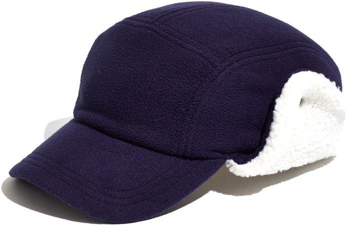 Fleece Baseball Trapper Hat