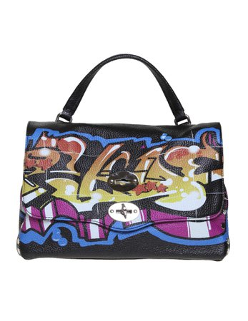 Zanellato Postina S Line Graffiti Leather