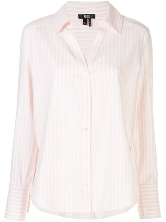 Paige Davlyn Striped Shirt Ss20 | Farfetch.com