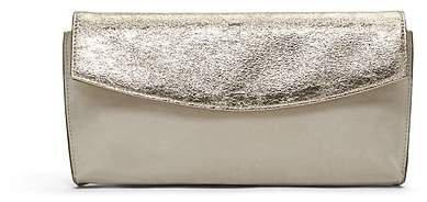 Metallic Small Foldover Clutch