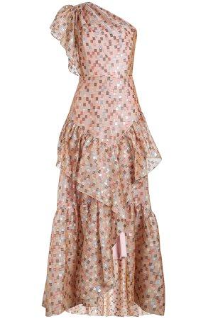 Fil Coupe Silk Organza Dress Gr. UK 8