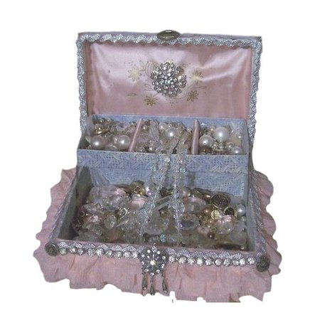 pink png box jewelry