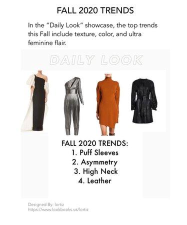 Fall Fashion Trend 2020