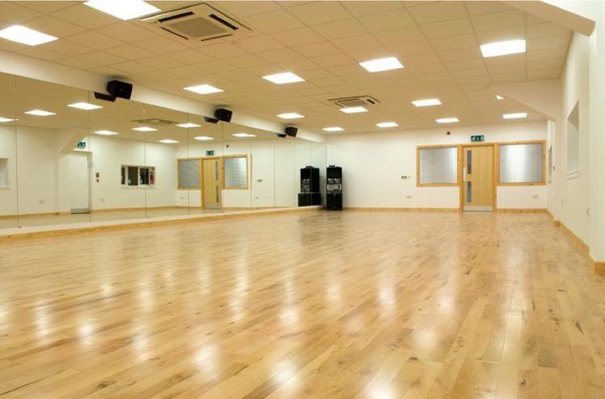 dance studio empty