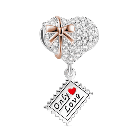 Only Love Charm Silver - Gifts