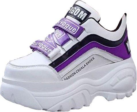 Purple Chunky Sneakers/Platforms