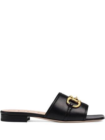 Gucci Horsebit Detail Sandals - Farfetch