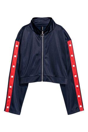 Sports jacket | Dark blue | LADIES | H&M ZA