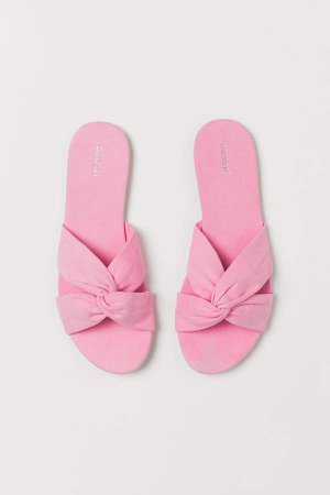 Slides - Pink