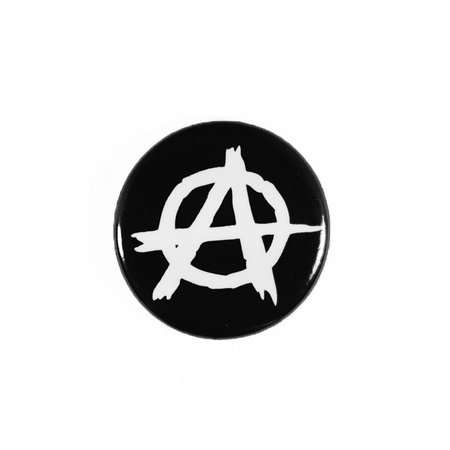 Punk Anarchism Pin-Back Button | Etsy